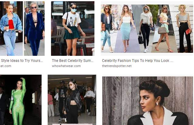celebrity looks and celebrity style