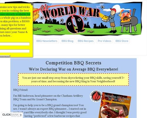 The BBQ Book Competition BBQ Secrets – Championship Barbecue Recipes