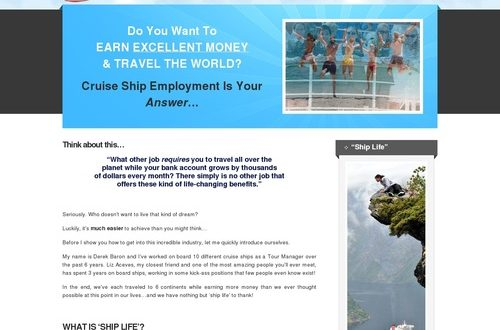 Best Selling Cruise Ship Employment Guide