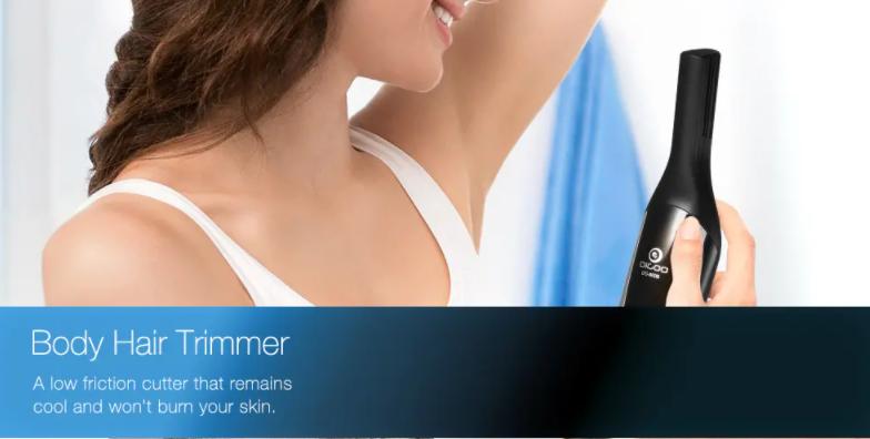 body hair trimmer