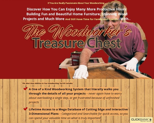 The Woodworker's Treasure Chest | Sawdust Addict