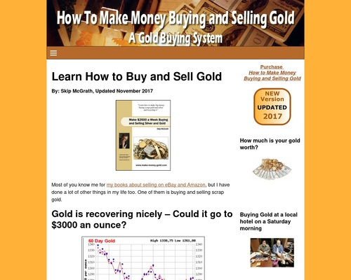 Make Money Buying And Selling Gold