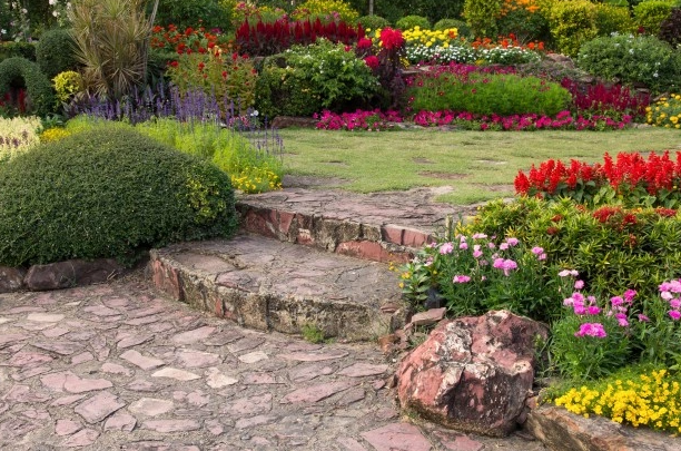 decorating garden
