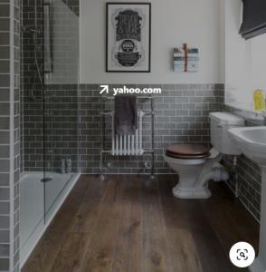 wooden floor for bathroom